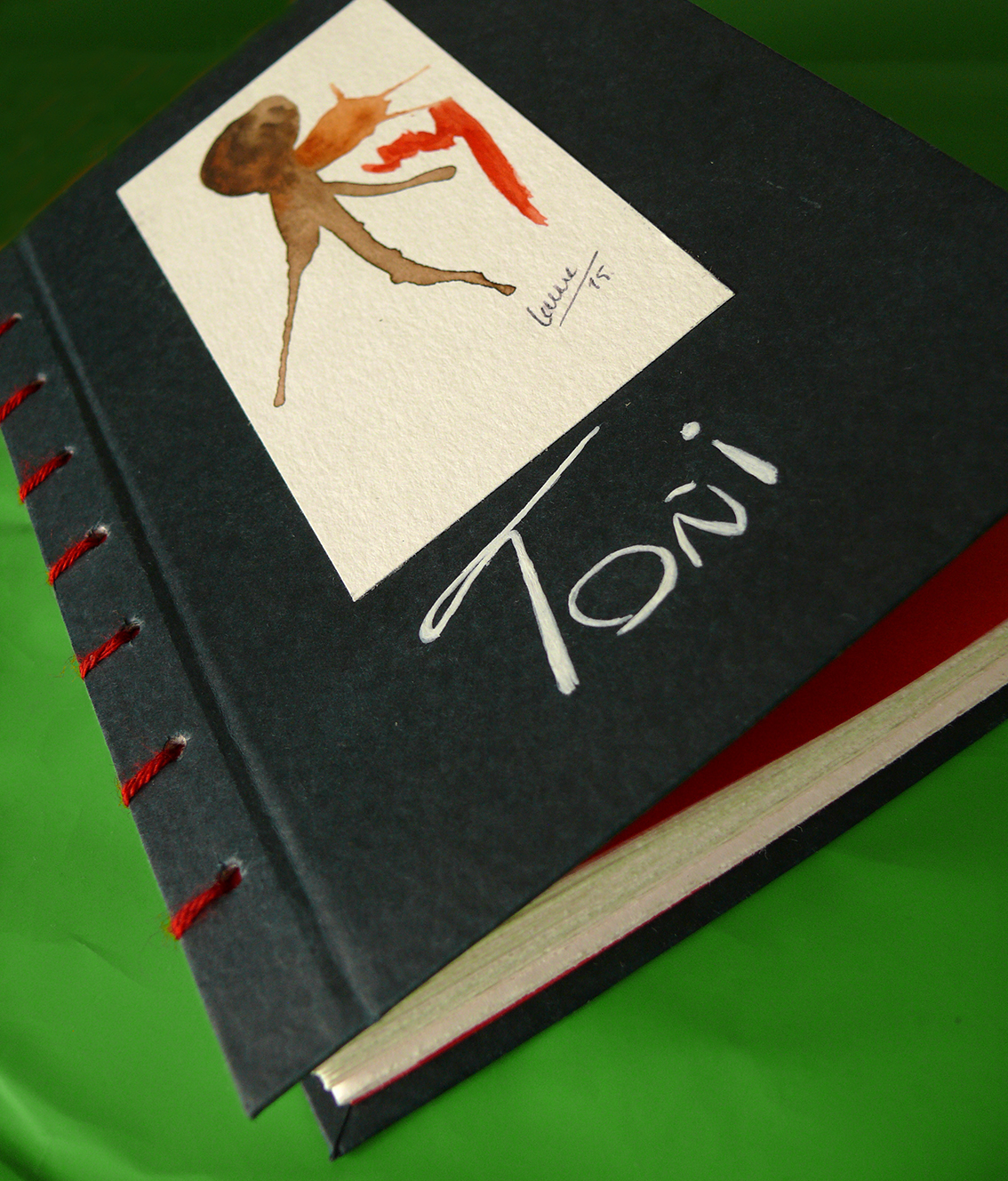 libreta artesanal personalizada