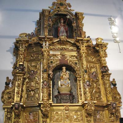 Restauración de retablos (empresa privada)