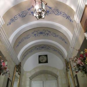 Restauración de pintura mural en espacios privados (cliente ArteCimbra)