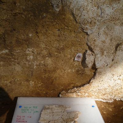 Conservación de enfoscado etrusco. Italia (Institución pública/Univesridad pública)