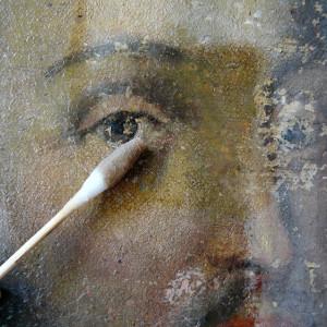 Eliminación de barniz oxidado (cliente ArteCimbra)