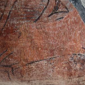 Reintegración de pintura mural (empresa privada)
