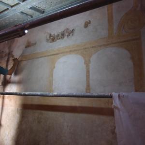 Reintegración en pintura mural (empresa privada)