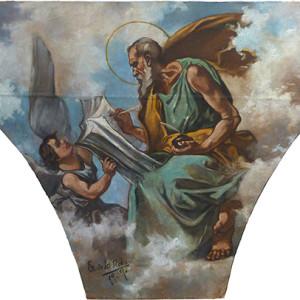 Restauración de lienzos con formatos particulares (empresa privada)