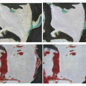 Eliminación de manchas de moho en pintura sobre lienzo (cliente ArteCimbra)