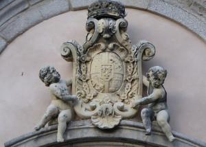 escudo fachada sur